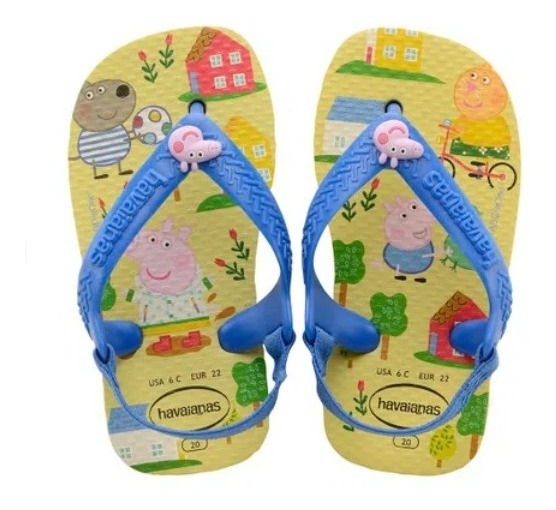 Chinelo Havaianas New Baby Peppa Pig