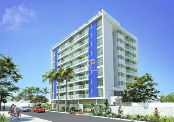 Cobertura Com 2 Dormitórios À Venda, 122 M² Por R$ 690.000,00 - Cabo Branco - João Pessoa/pb - Co0006