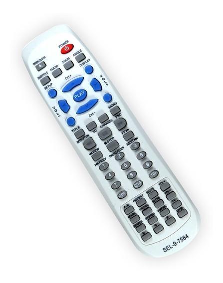 Controle Remoto Dvd Semp Toshiba Dvd3150 Sd7050 Sd7070 Sel