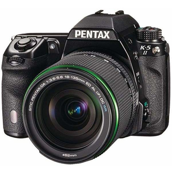 Camara Pentax K-5 Ii 16.3 Mp Dslr Da 18-135mm Wr Lente Ki -®