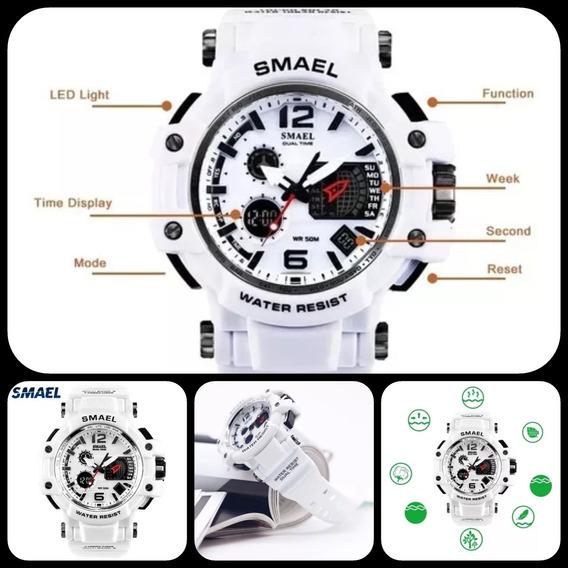 Relógio Smael Branco - Mod.: 1509