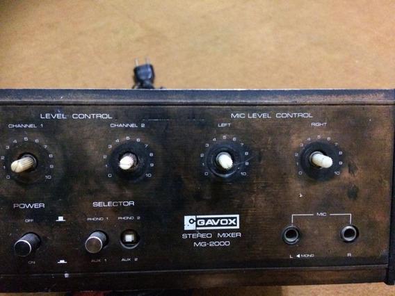 Mixer Gavox Stereo Mg2000
