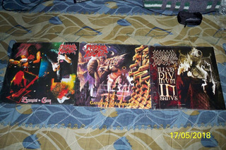 Morbid Angel - 4 Lps Entangled In Cha+gateways+illud Divinum