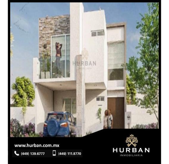 Hurban Vende Casa Nueva En Privada Al Norte De La Ciudad.