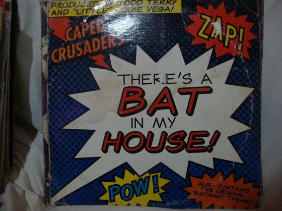 Vinilo Caped Crusaders There S Bat In My House D1