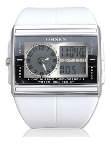 Relógio Masculino Ohsen Modelo Ad0518 Original Excelente !!