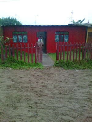Terreno Con Casa Prefabricada , Con Agua Y Luz