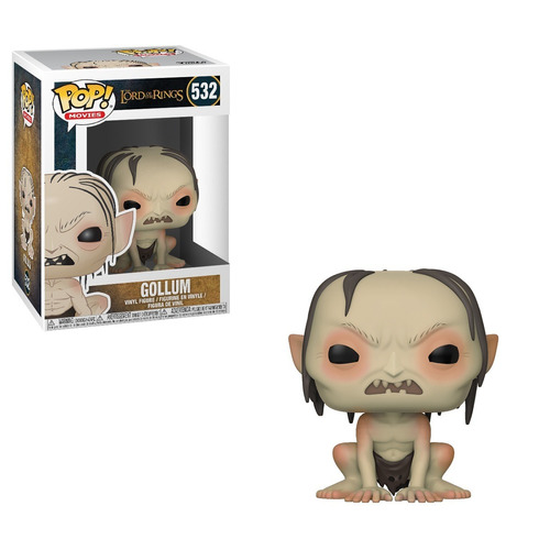 Funko Pop Movies The Lord Of The Rings Gollum #532
