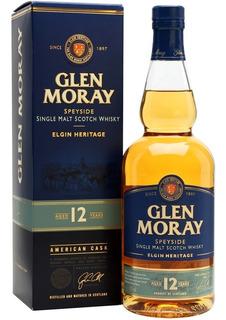 Whisky Glen Moray 12 Años Heritage Single Malt Con Estuche