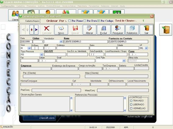 Sistema Programa Software Para Representações Comerciais