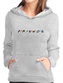 Blusa Frio Moletom Friends Série Canguru Com Capuz Promoção