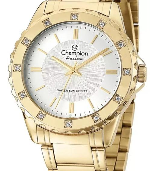 Relógio Champion Feminino Original Cn29847w + Nf