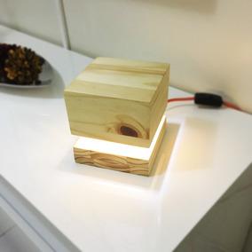Luminária Box Tipo Abajur - Linha Tênue