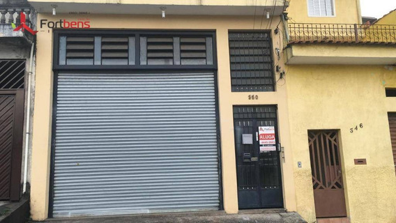 Salão Para Alugar, 300 M² Por R$ 3.000,00/mês - Laranjeiras - Caieiras/sp - Sl0074