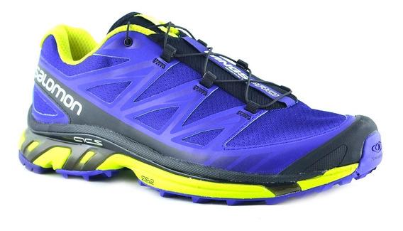 Zapatillas Salomon Wings Pro Hombre Azul