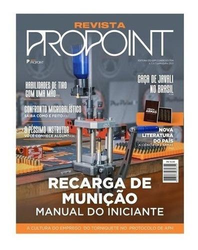 Imagem 1 de 1 de Revista Propoint Vol 1 Manual Básico De Recarga De Munição