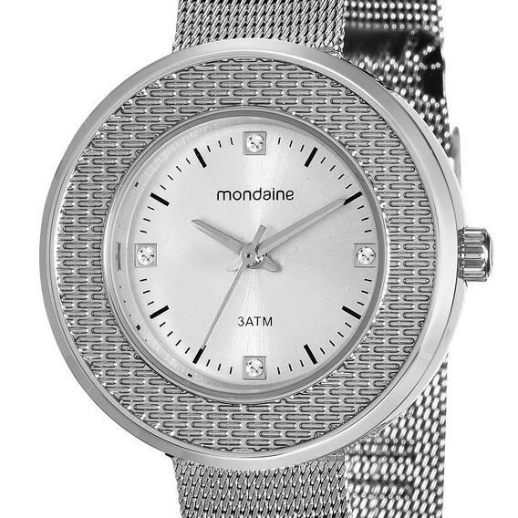 Relógio Mondaine Feminino Fashion Prateado 99219l0mvne2