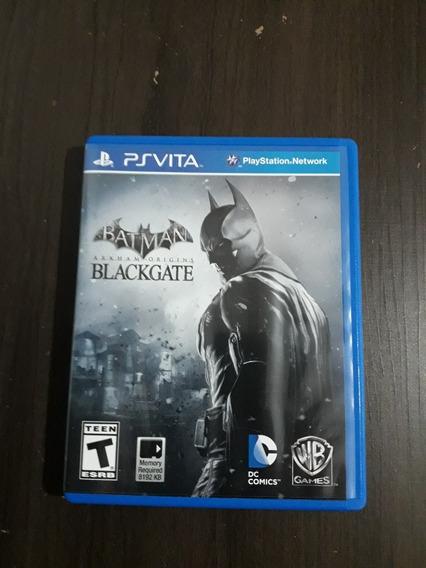 Batman Arkham Origins Blackgate Psvita Mídia Física
