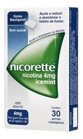 Nicorette Ice Mint 4mg 30 Gomas