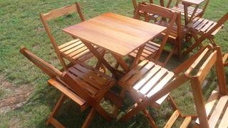 Cadeiras E Mesas Dobraveis, Desmontavel Para Restaurante.