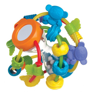 Juguete Sonajero Mordillo Playgro Play And Learn Ball