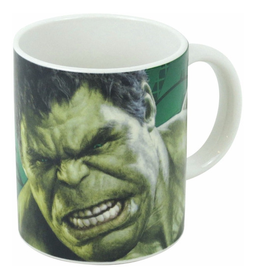 Caneca Character Mug Avengers Age Of Hulk - Bonellihq K18