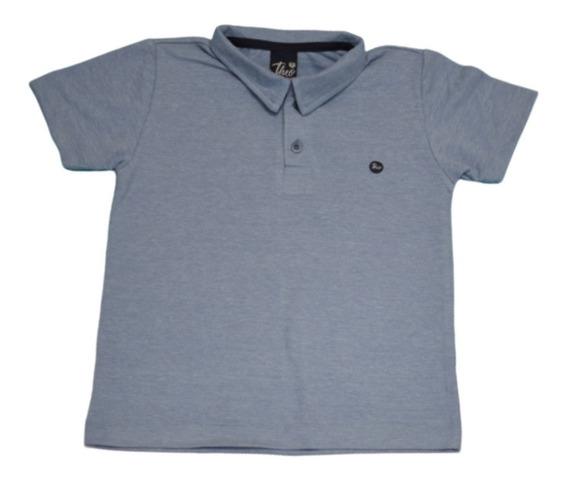 Camisa Polo Masculino Infantil Menino Theo Boy Kids 66.19