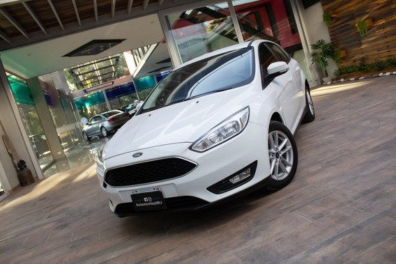 Ford Focus S 1.6 Nafta Gnc 2016 Blanco