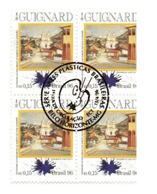 1996 C-1989 - Quadra Selos Centenario Alberto Veiga Guignard