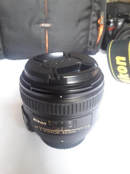 Vendo Lente 50mm 1.4 Nikon