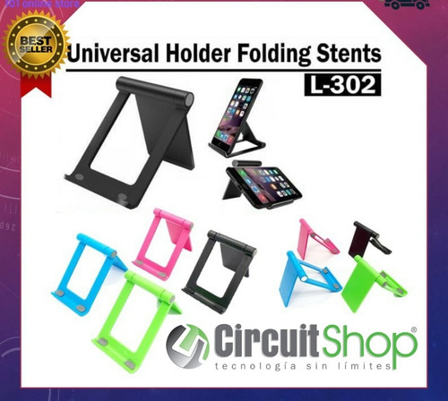 Soporte Celular Tablet Dos Posiciones Colores Circuit Shop