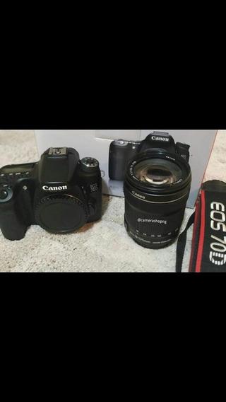 Câmera 70d Canon