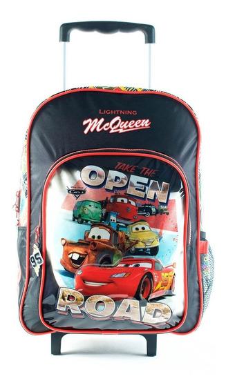 Mochila Cars Con Ruedas Original!!!
