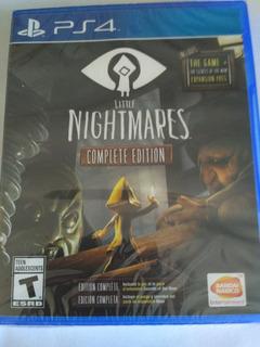 Little Nightmares Complete Edition Ps4 Nuevo Sellado