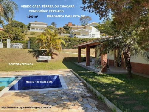 Imagem 1 de 14 de Sítio / Chácara Para Venda Em Bragança Paulista, Condomínio Jardim Das Palmeiras, 4 Dormitórios, 1 Suíte, 4 Banheiros, 10 Vagas - 3034_1-1731147