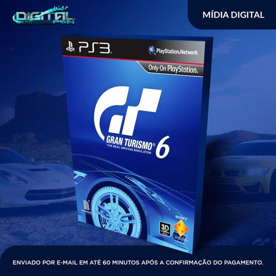 Gran Turismo 6 Ps3 Psn Midia Digital Envio Hj!
