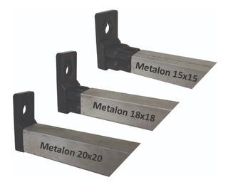 Kit Fixa Forro Pvc 100 Suporte Fixação +100 União Metalon***