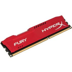 Memoria Hyper-x Fury 4gb 1866mhz Ddr3 Nova Lacrada Vermelha