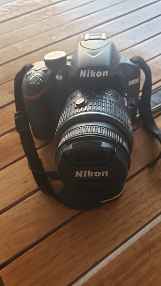 Cámara Nikon D3200 Poquísimo Uso