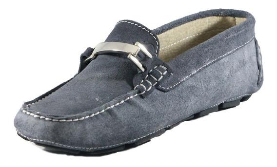 Zapatos Driver Mocasines Peskdores Navy Nv00101