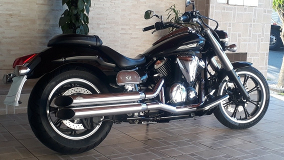Midnight Star Yamaha Xvs 950 A