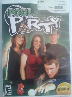 Pool Party Juego Original Wii Envio Gratis Conpatible Wii U