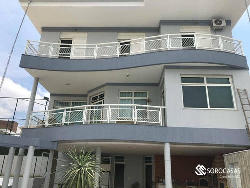 Casa Com 5 Dormitórios, 532 M² - Venda Por R$ 2.000.000,00 Ou Aluguel Por R$ 10.565,34/mês - Jardim Ibiti Do Paço - Sorocaba/sp - Ca1794