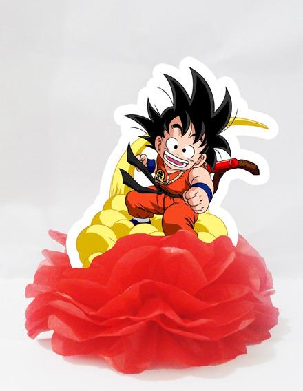 30 Centro Mesa Display Enfeite Dragonball Goku Pequeno