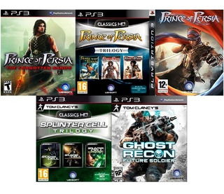9 Juegos Ps3 Prince Of Persia Collection