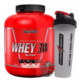 Whey Protein 3w 1,8kg Isolado Hidrolisado Integralmedica