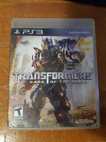 Transformers Dark Of The Moon Ps3 Original Completo Na Caixa