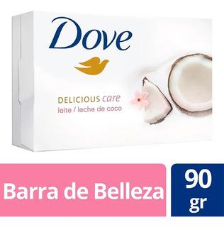 Jabon Dove Leche De Coco Decilicius Care 90gr