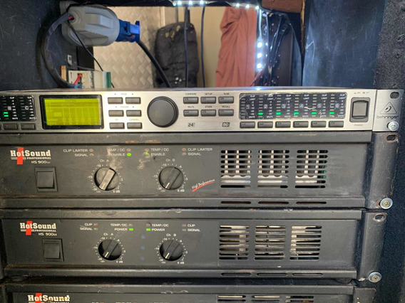 Crossover Digital Dcx2496 Behringer