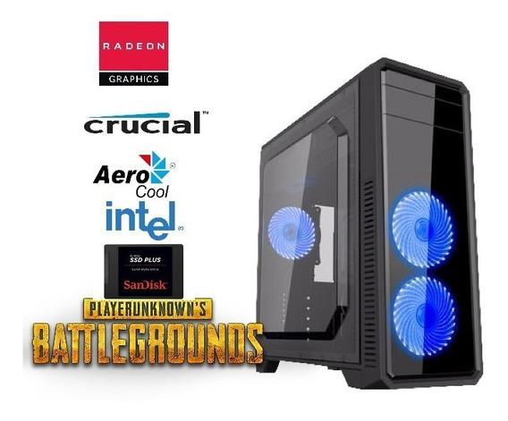 Pc Gamer 8gb Ddr4 Hd Ssd R7 240 2gb Ddr5 + Battlegrounds